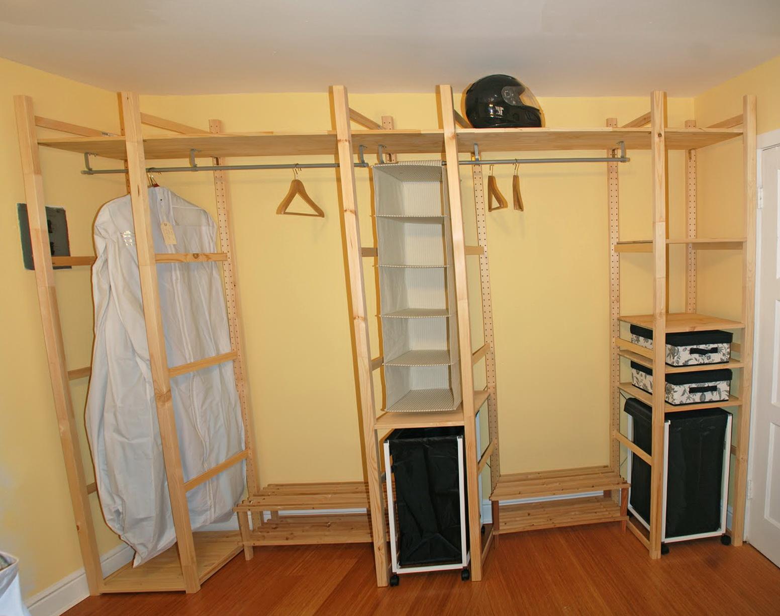 Custom closet organizers ikea home design ideas for Ikea closet storage