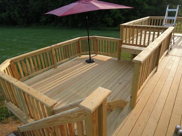 Deck Board Spacing Pressure Treated