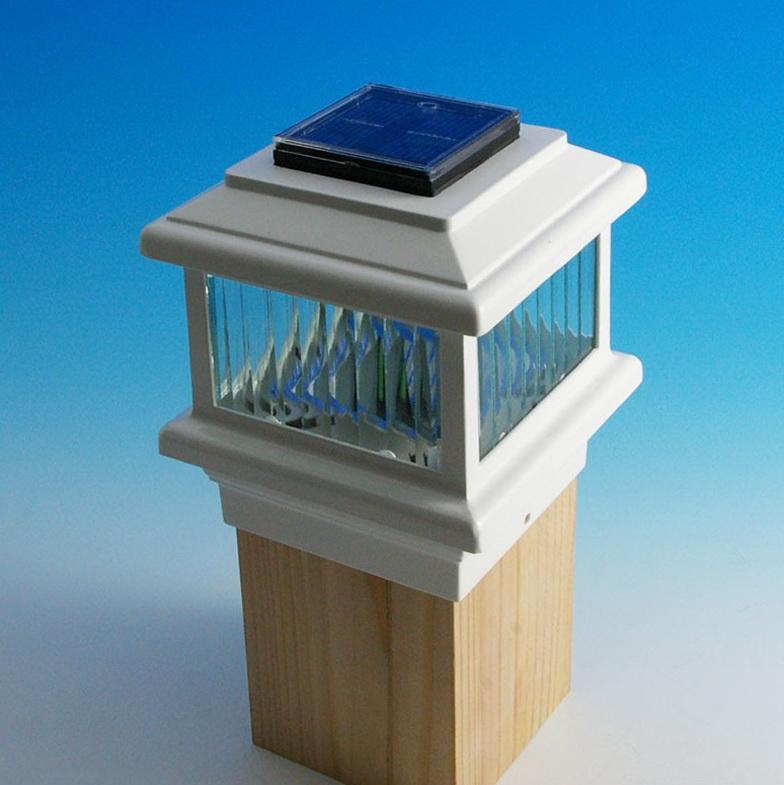 Deck Post Cap Lights Solar