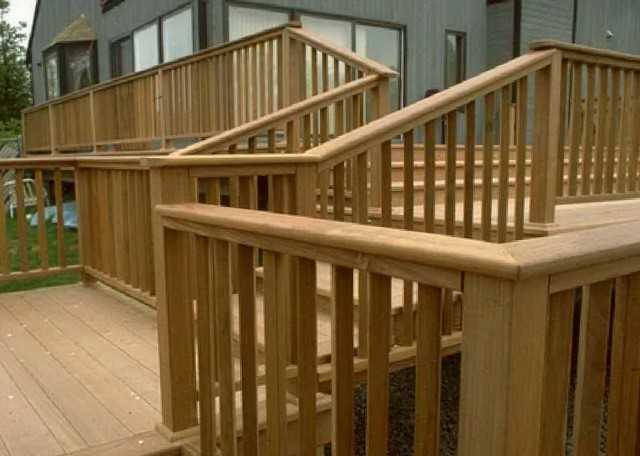 Deck Railing Height And Spacing