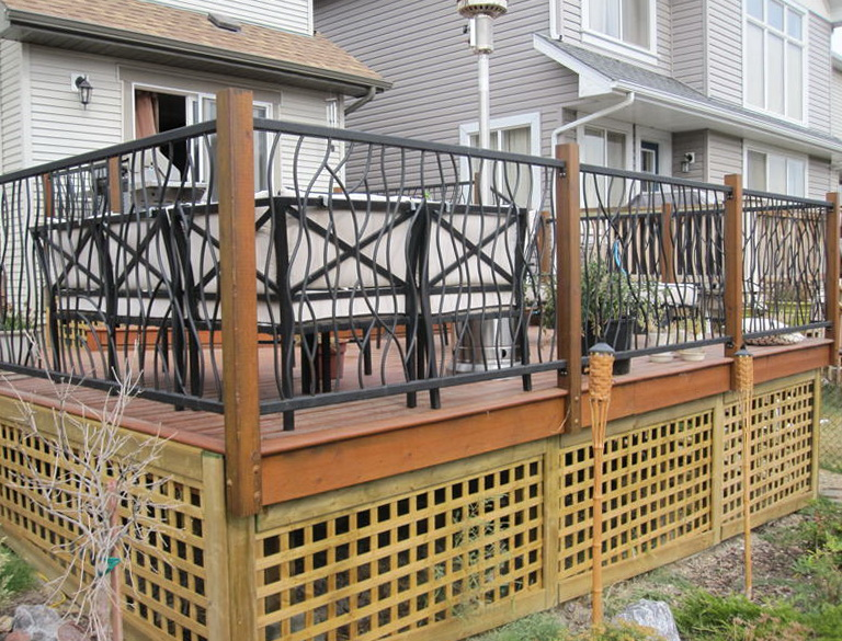 Deck Railing Height Ontario Home Design Ideas