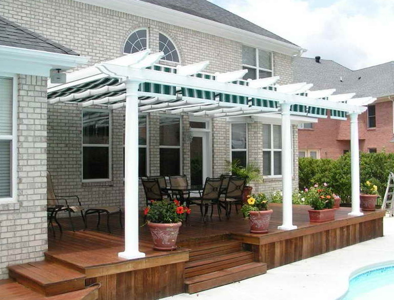 Decks And Patios For Mobile Homes Home Design Ideas