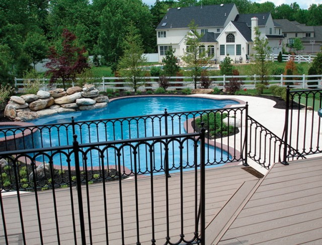 Decorative Metal Railings For Decks