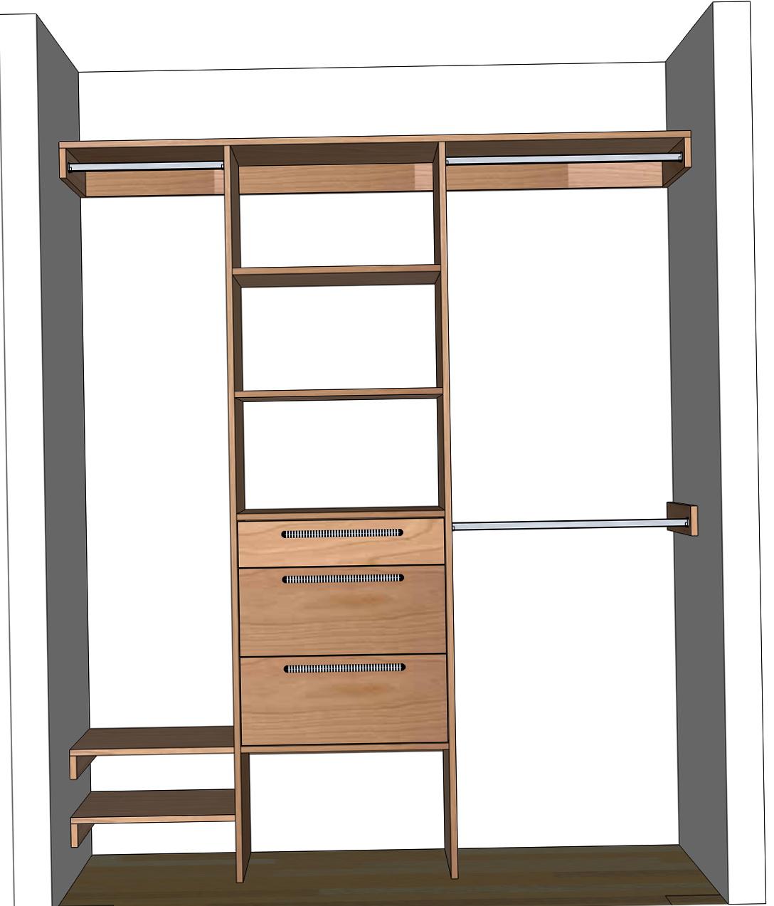 Diy Closet System Plans