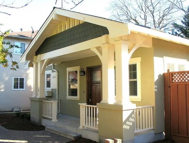 Front Deck Designs Bungalow