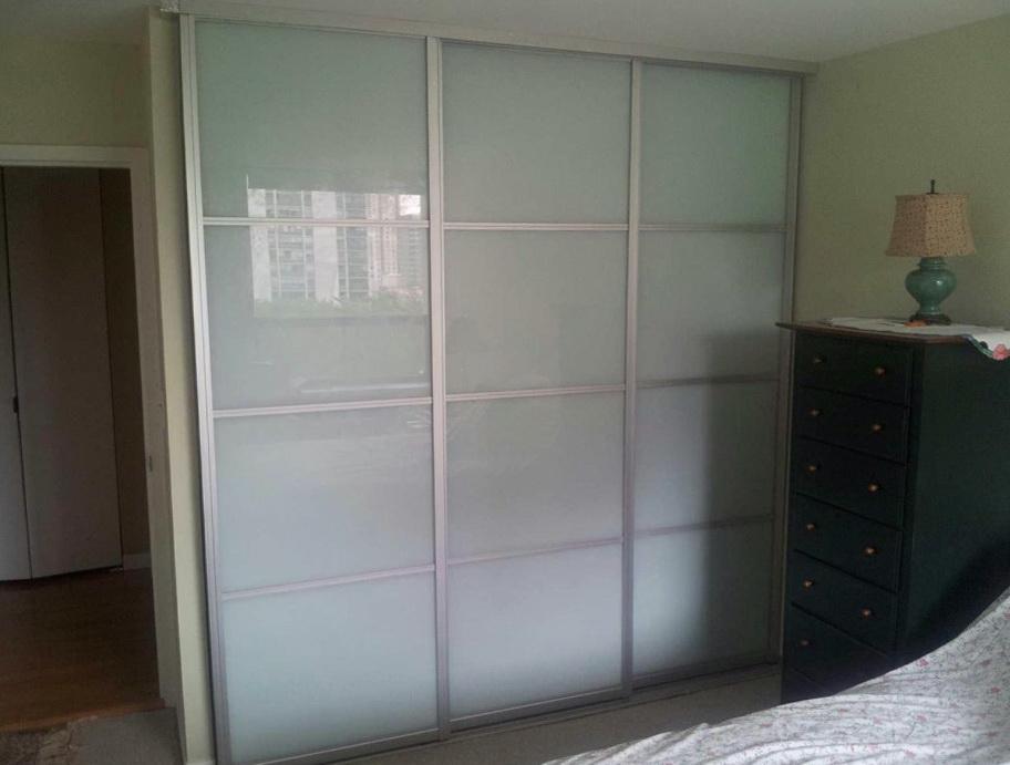 Frosted Glass Sliding Closet Doors Home Design Ideas