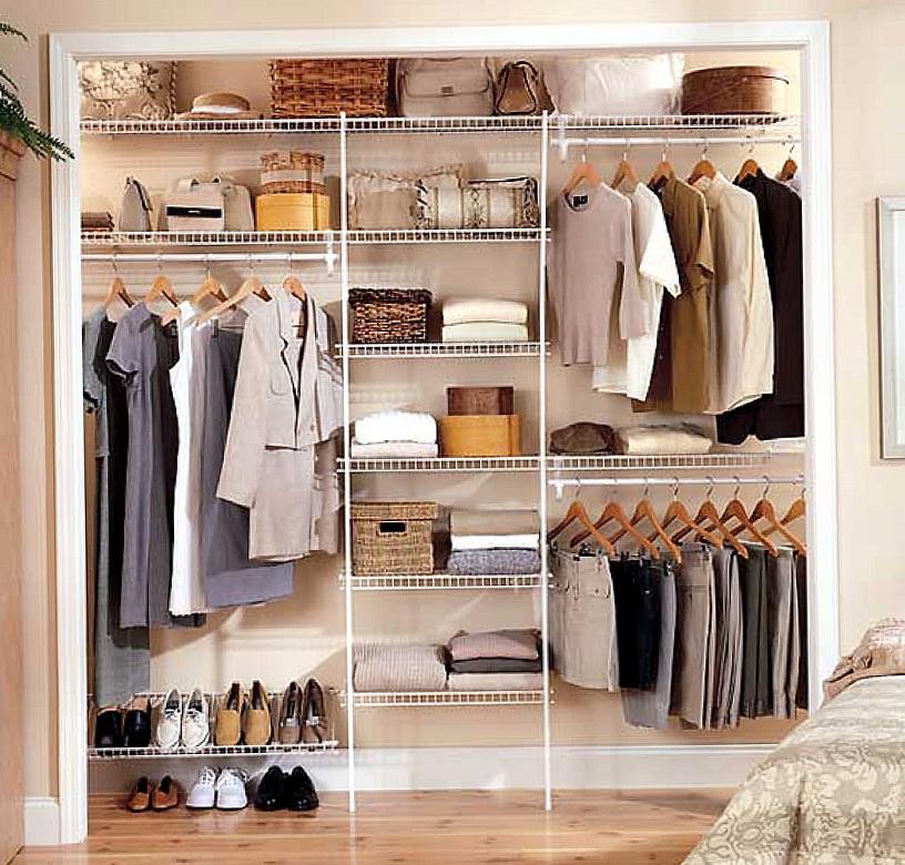 Ideas For Organizing A Closet