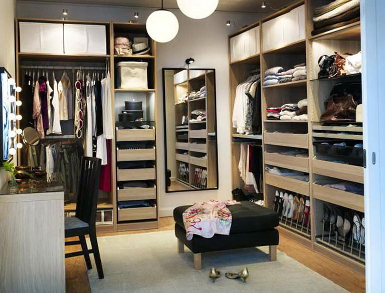 Ikea Walk In Closet Design