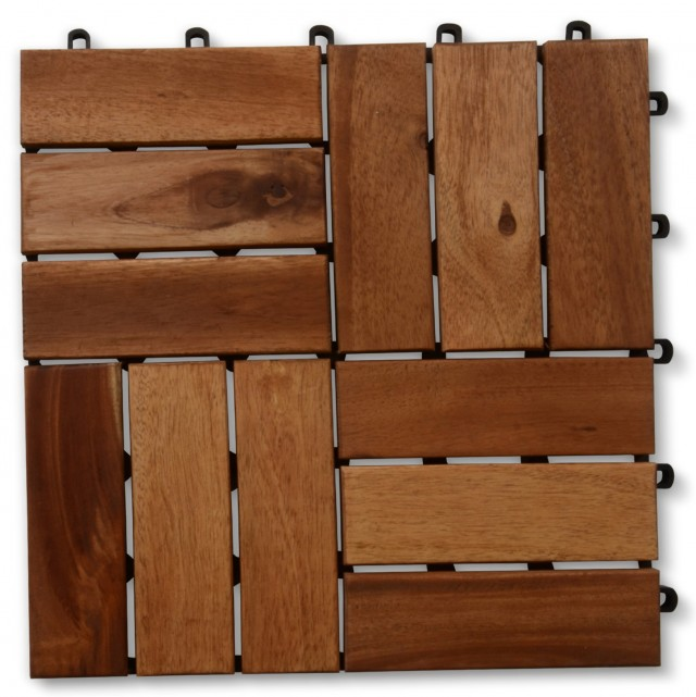 Interlocking Wood Deck Tiles Home Depot