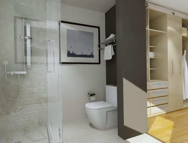 Master Bathroom Floor Plans With Walk In Closet Home