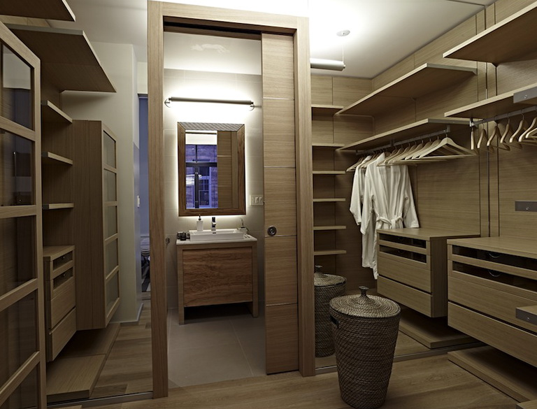 Master bathroom floor plans with walk in closet home for Master bathroom with closet