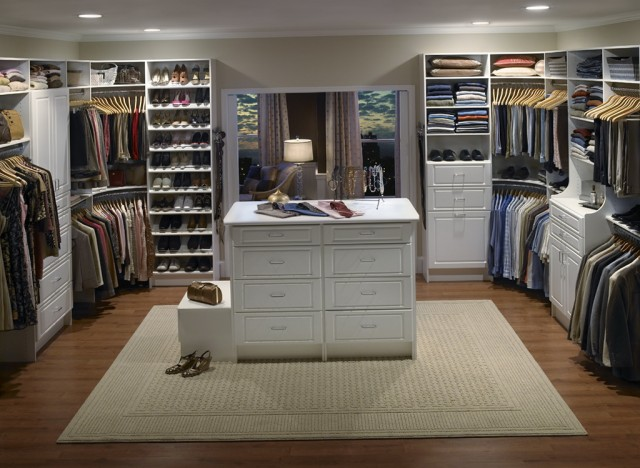 Master Walk In Closet Ideas