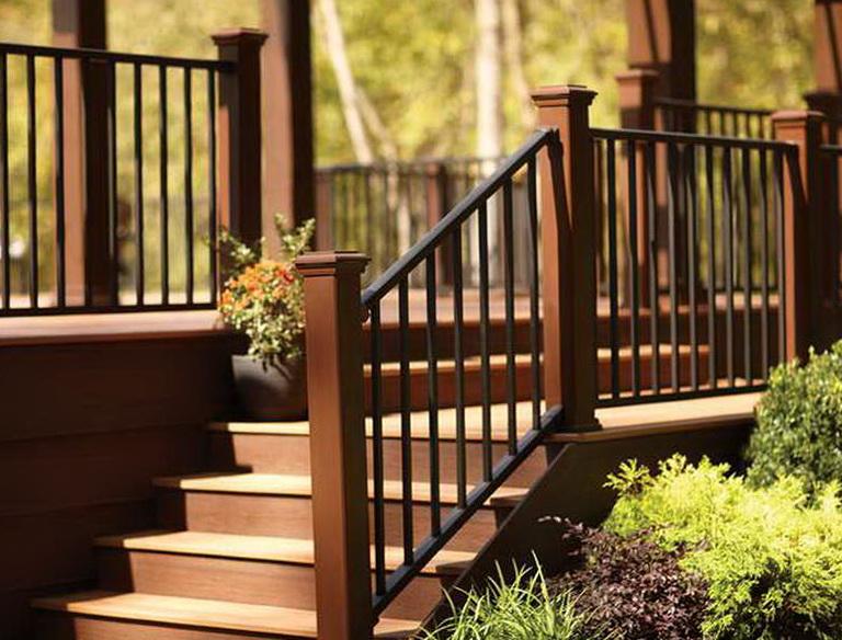 Metal Deck Railings Designs