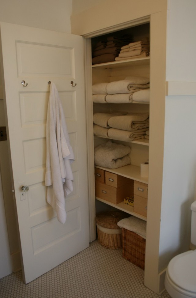 Open Bathroom Closet Ideas