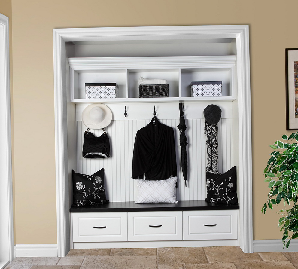 Open Coat Closet Ideas Home Design Ideas