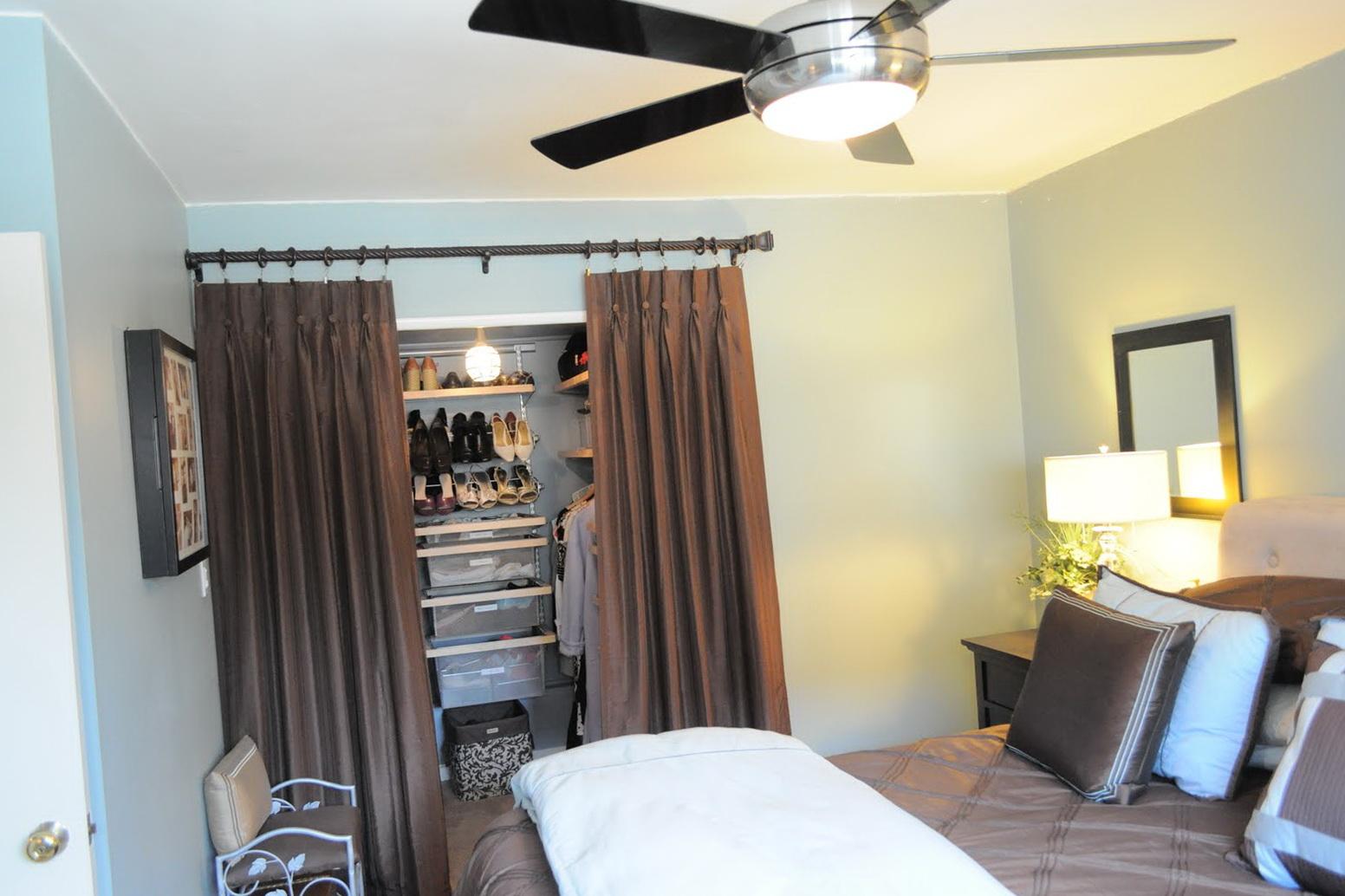 Organizing A Small Bedroom Closet
