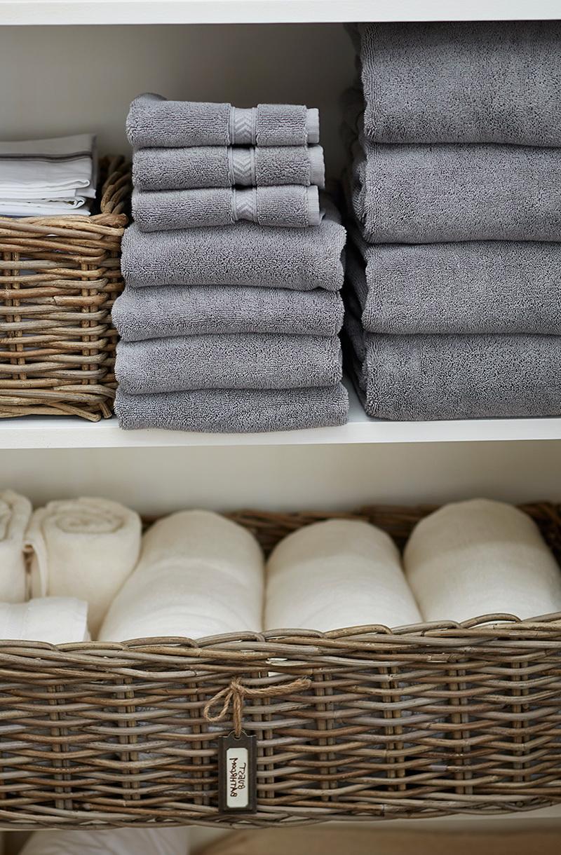 Organizing A Small Linen Closet