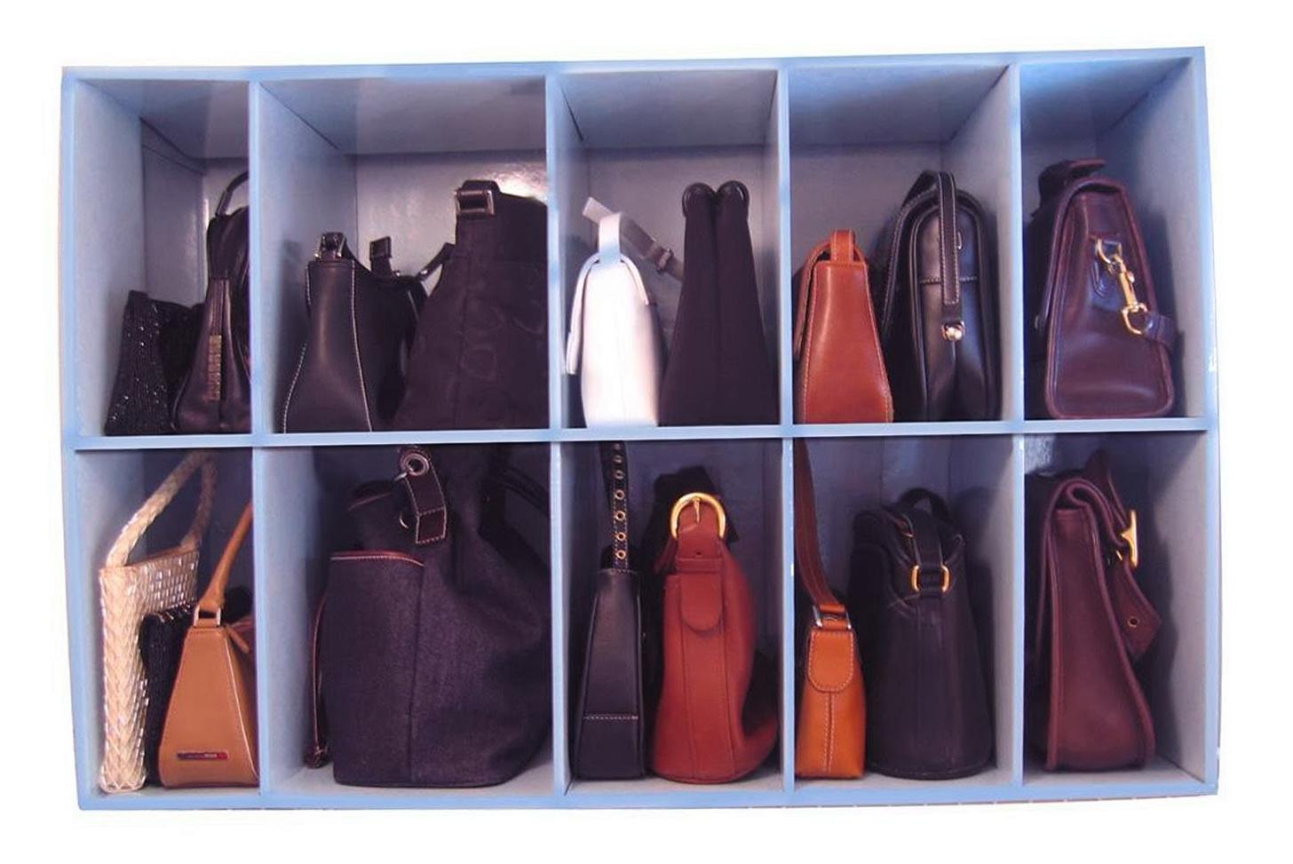 Organizing Purses In Your Closet