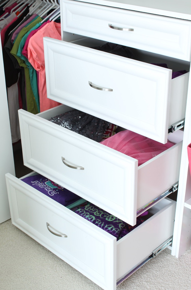 Organizing Your Closet And Drawers Home Design Ideas