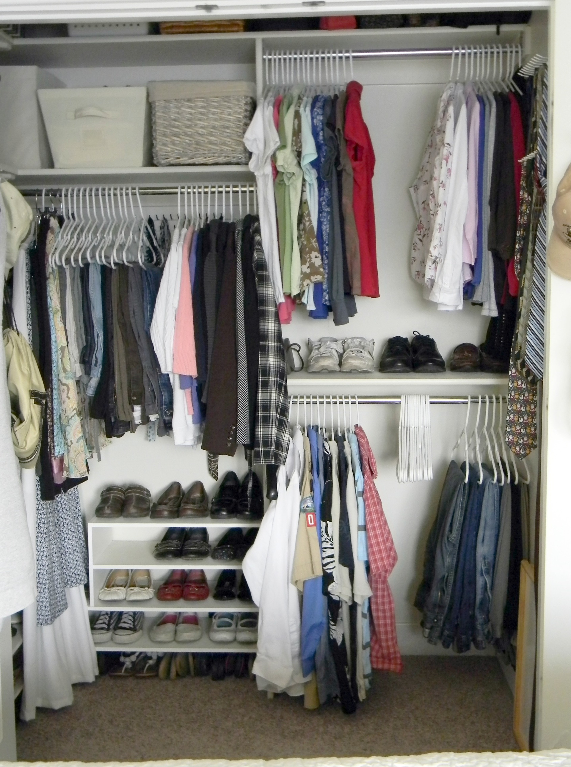 Organizing Your Small Closet
