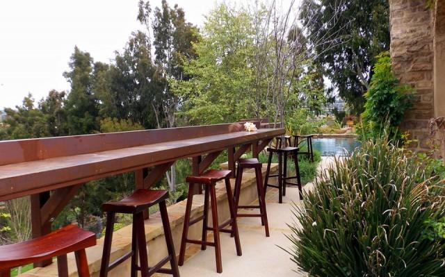 Outdoor Deck Bar Plans