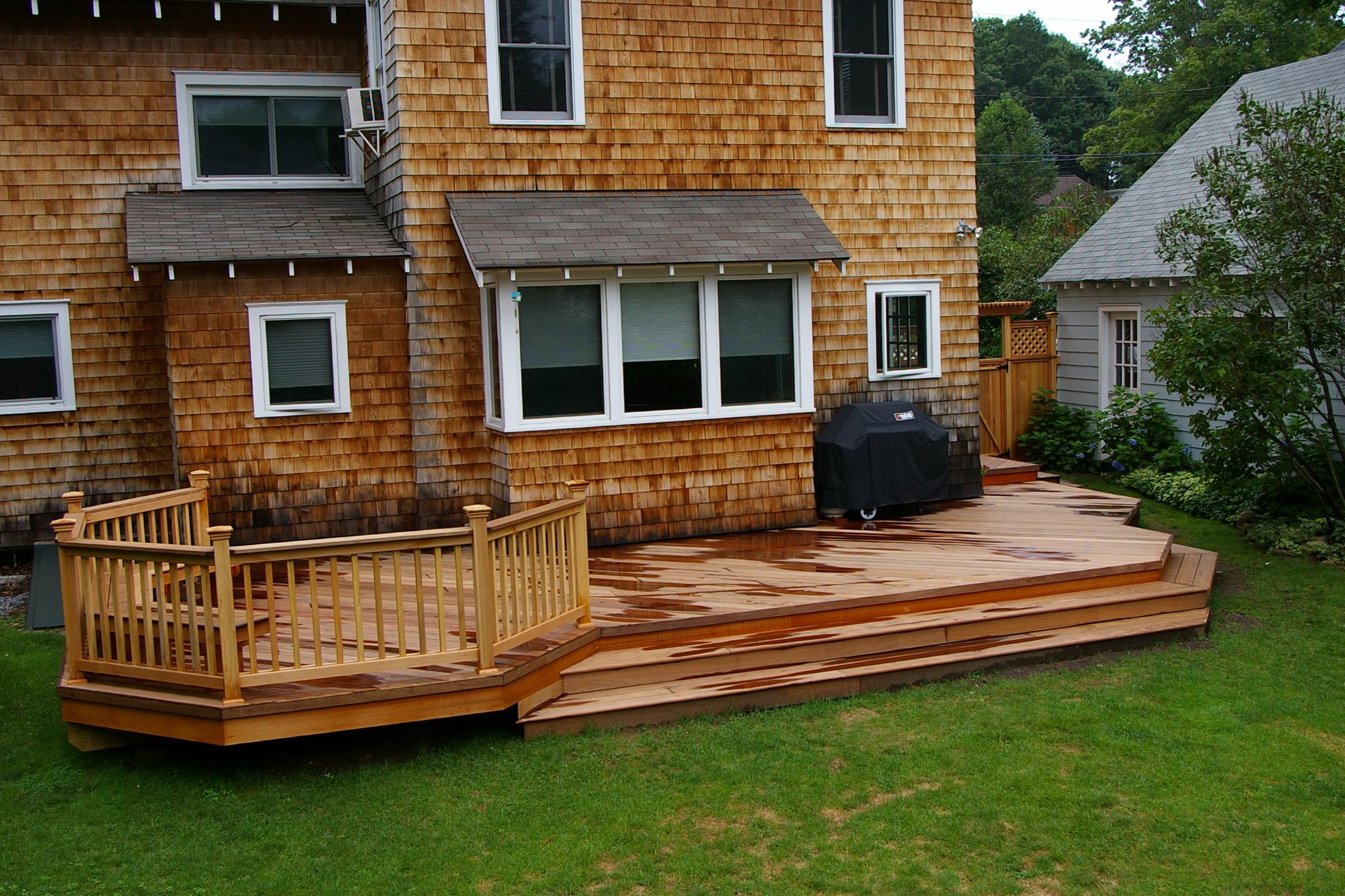 Outdoor Deck Plans Photos