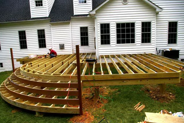 Outdoor Deck Plans Pictures