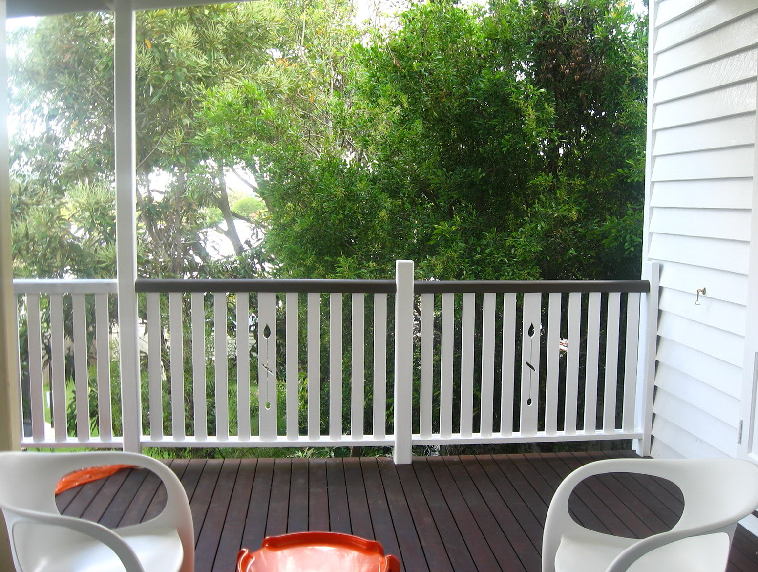 Painting A Deck Railing