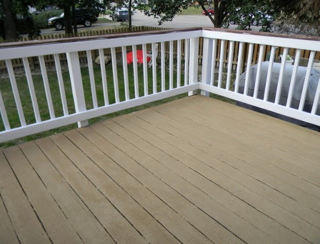Painting A Deck White