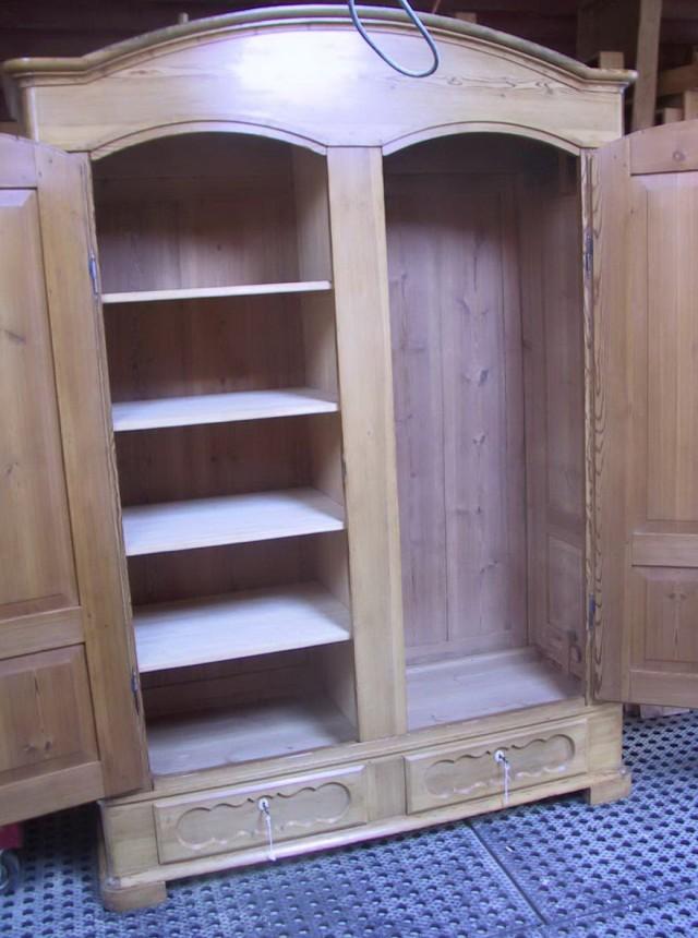 Portable Clothes Closet Wood