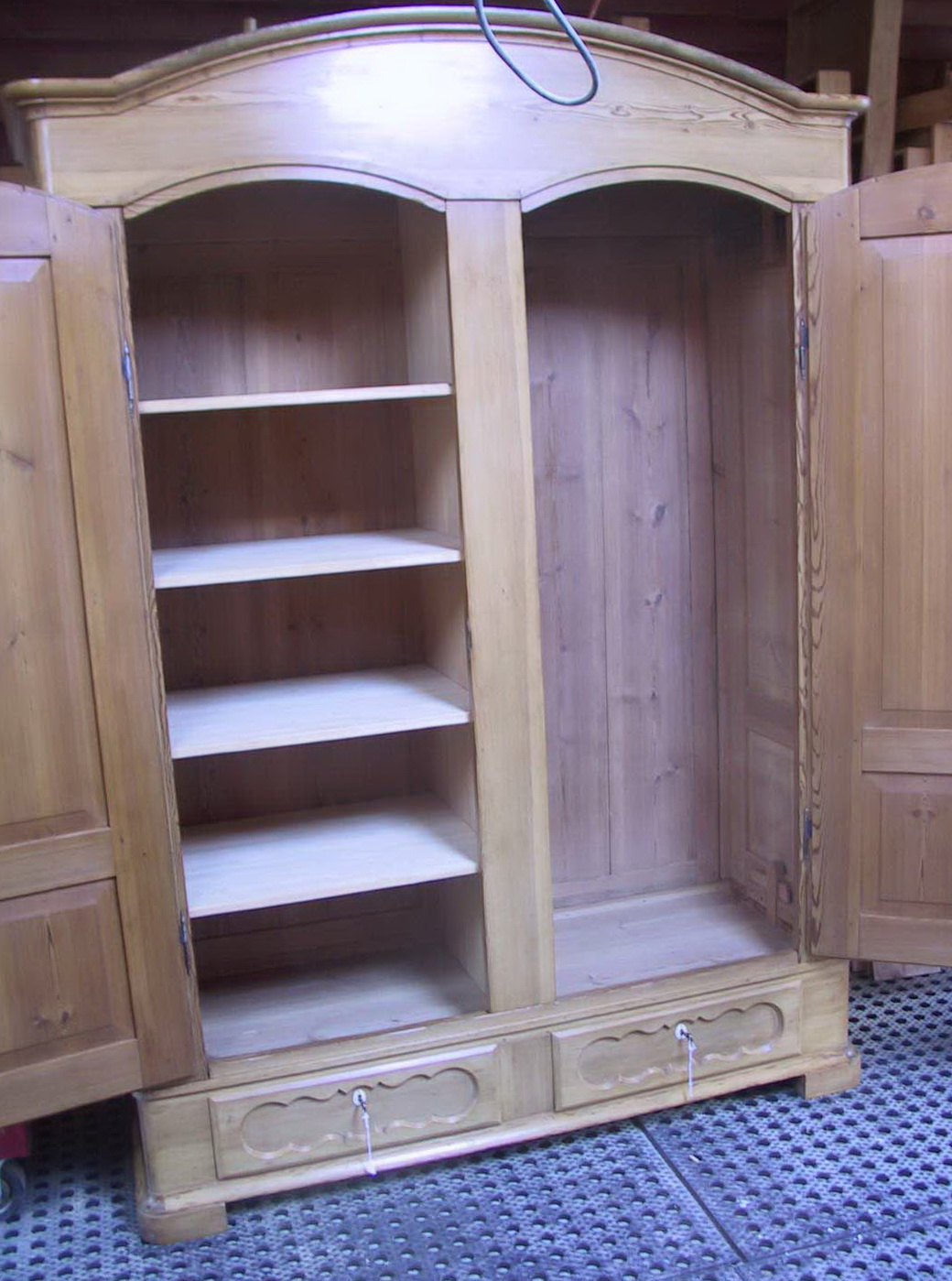 Portable Clothes Closet Wood Home Design Ideas