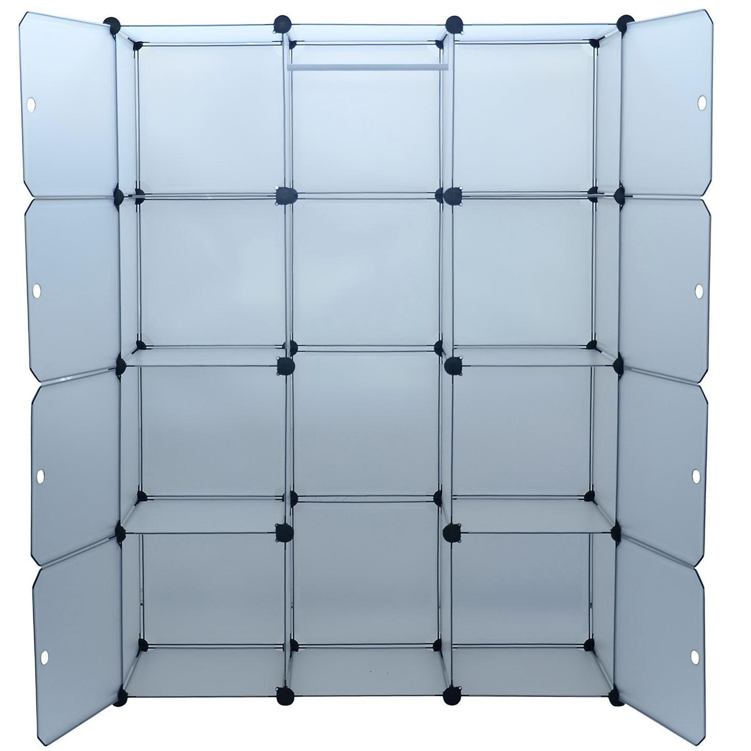 Portable Storage Closet With Shelving