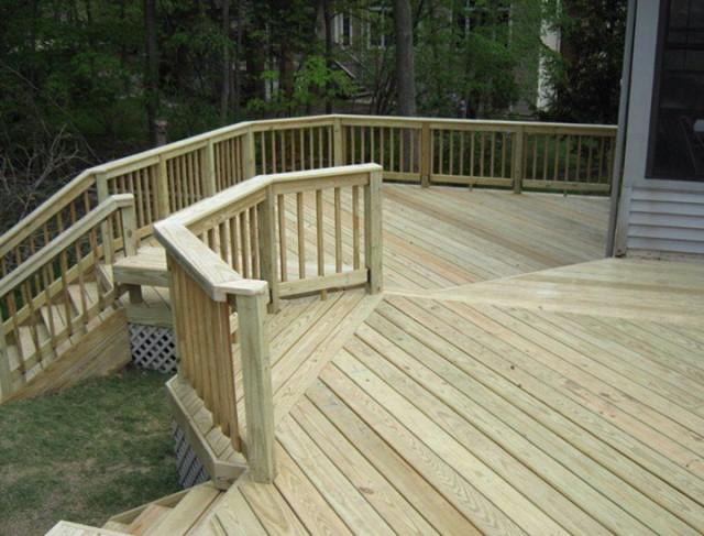 Pressure Treated Deck Boards Gap
