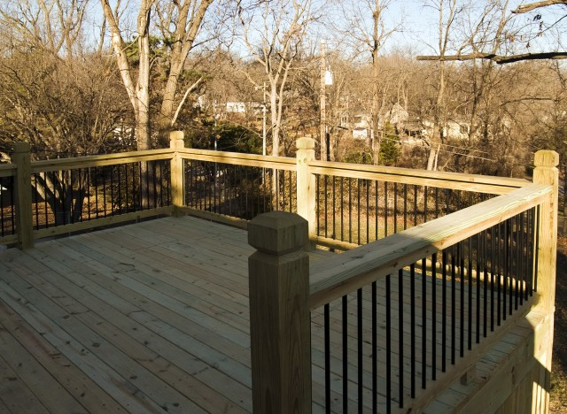 Pressure Treated Deck Gate