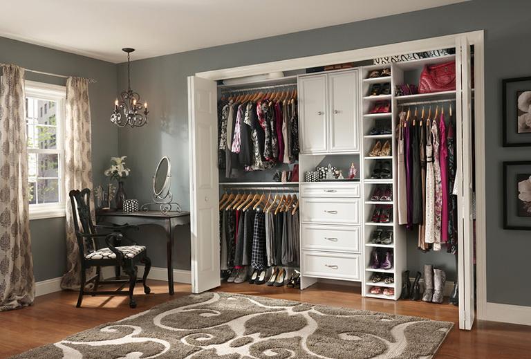 Reach In Closet Diy Home Design Ideas