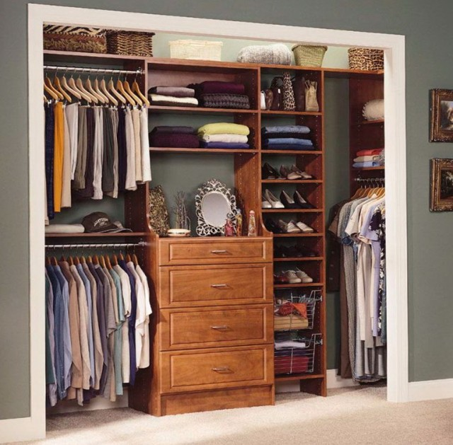 Do It Yourself Home Design: Reach In Closet Organizers Do It Yourself