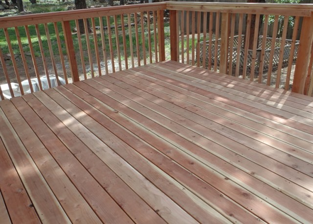 Redwood Deck Stain And Sealer