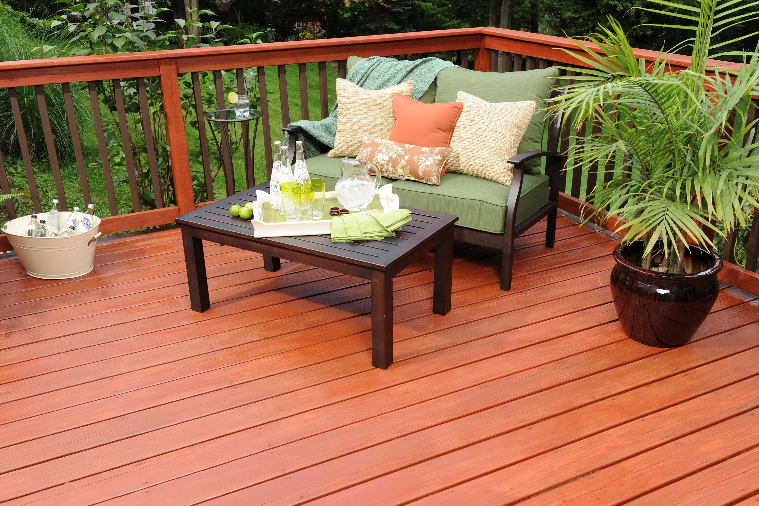 Redwood Deck Stain Home Depot