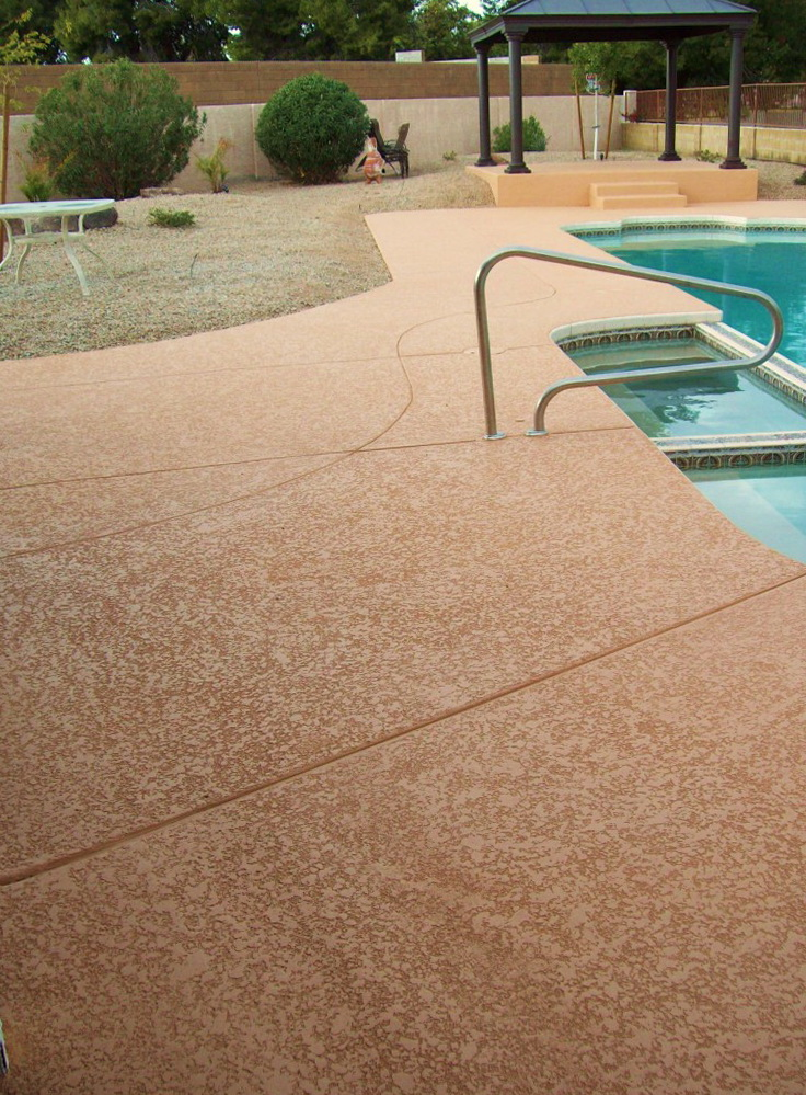 Resurface Pool Deck With Pavers