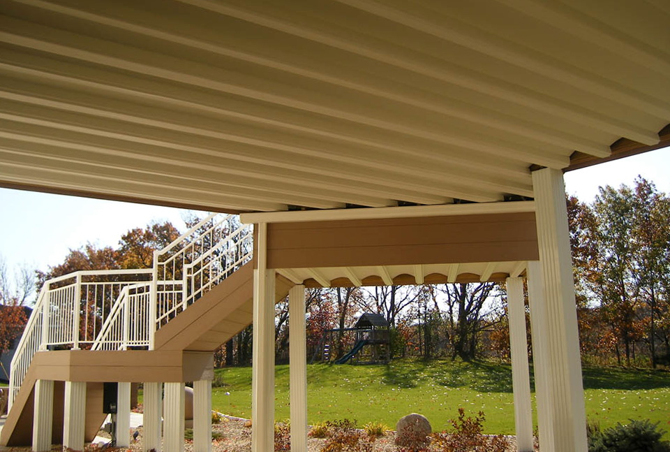 Roof Deck Drainage System