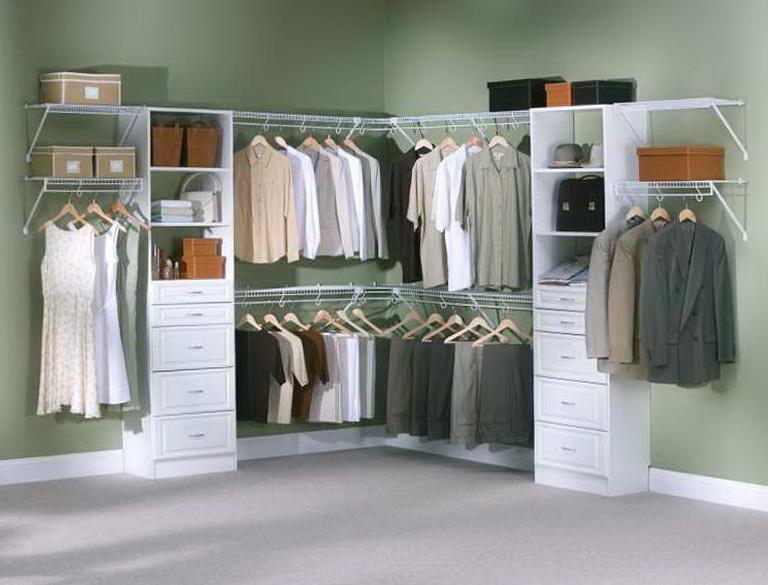Rubbermaid Closet Organizer Corner Home Design Ideas