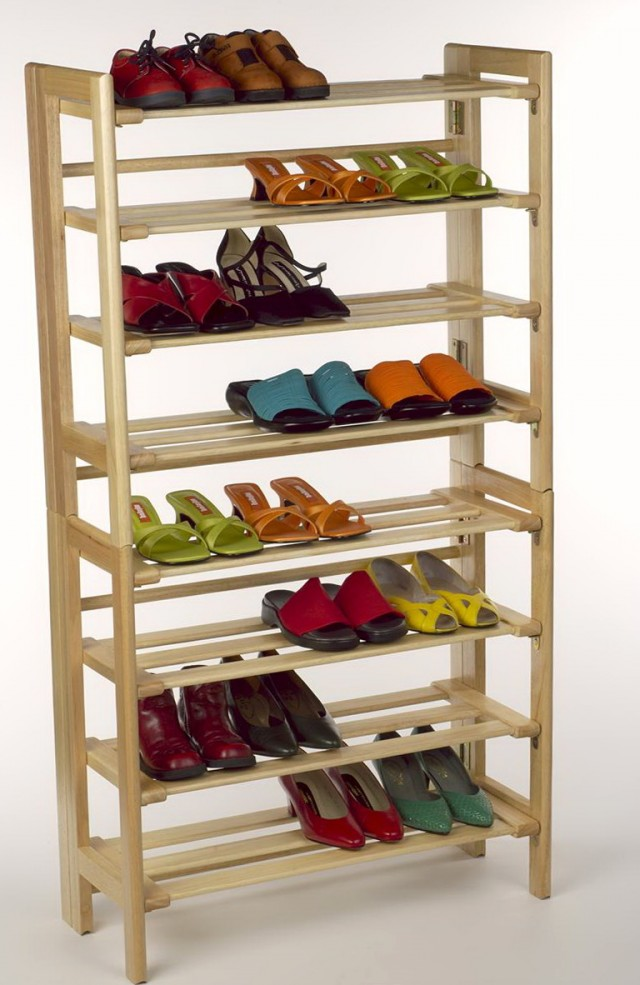 diy closet shelves wood home design ideas Black Shoe Shelving for Closets Shoe Storage Racks