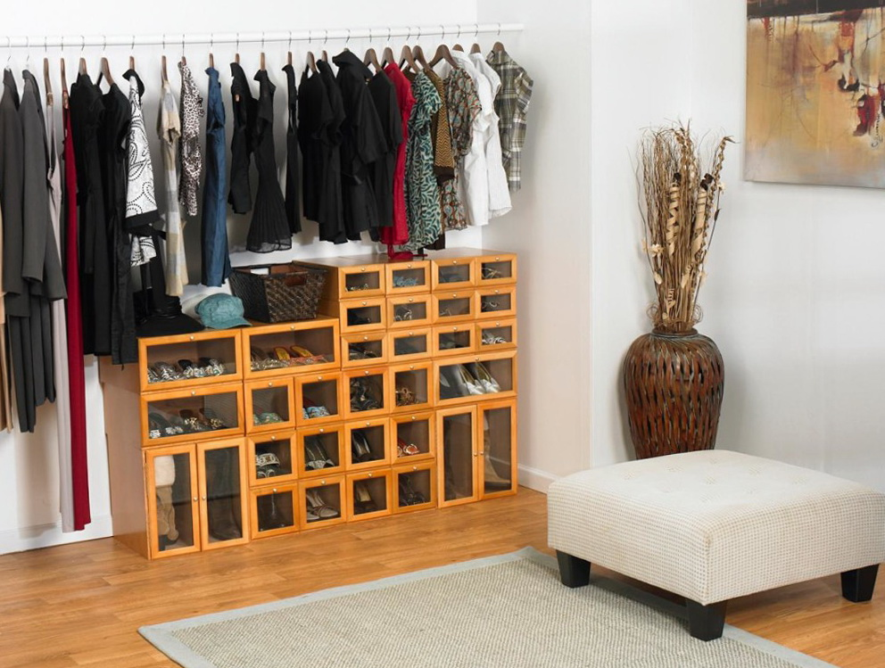 Shoe Storage Ideas For Small Closet