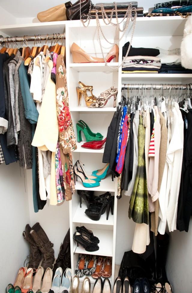 Small Closet Ideas Pinterest