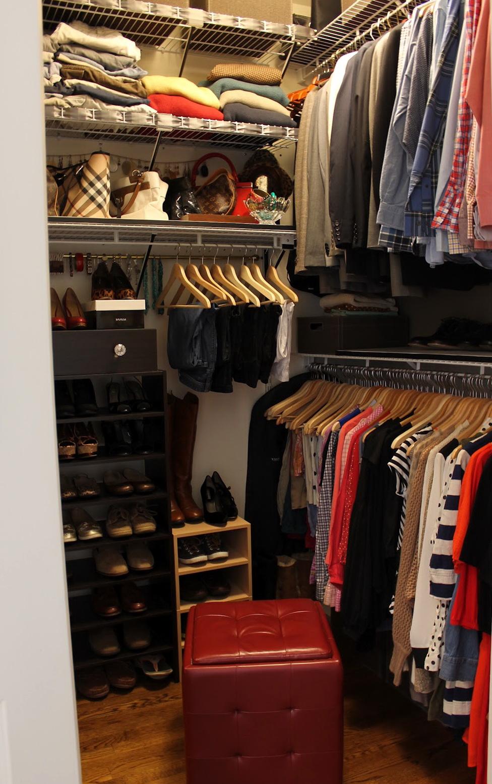 Small Closet Storage Ideas Pinterest