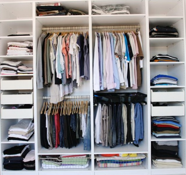 Small Master Closet Ideas