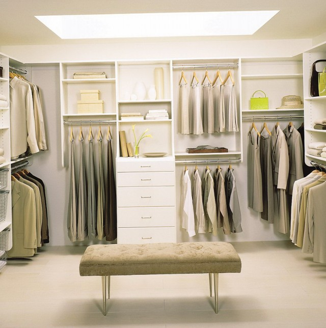 Small Walk In Closet Dimensions