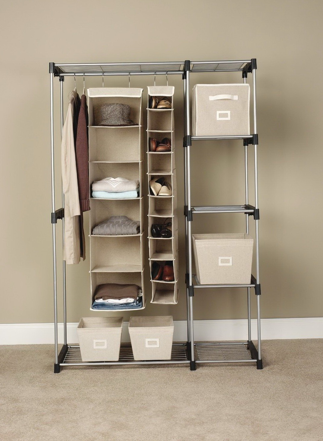 Stand Up Closet Rack Home Design Ideas