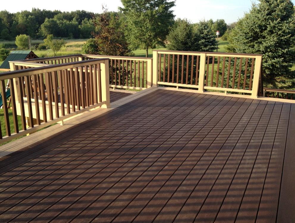 Trex composite decking sale home design ideas for Composite decking sale