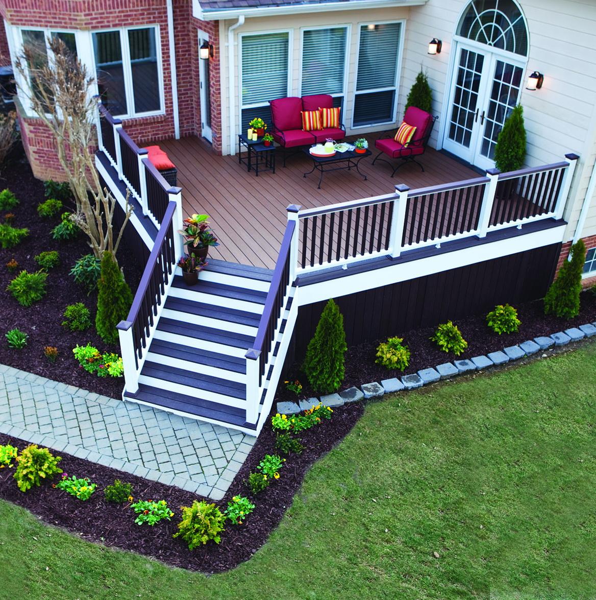 Trex decking colors pdf home design ideas for Colors of composite decking